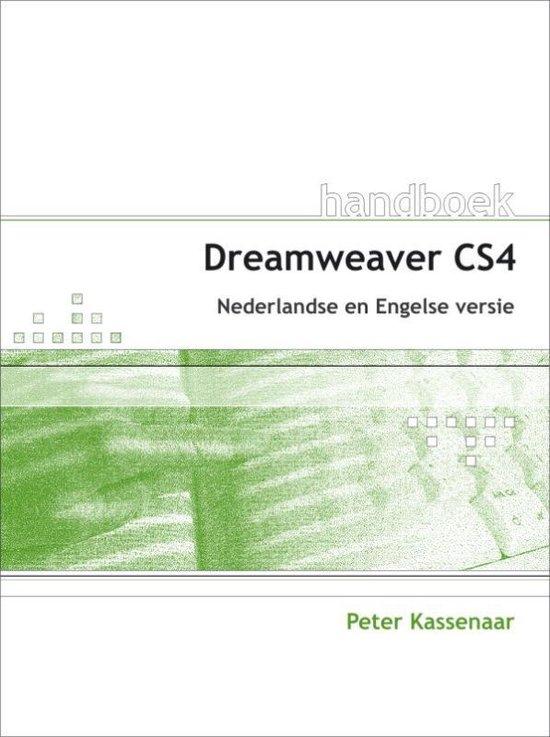 Cover van het boek 'Handboek Dreamweaver CS4'
