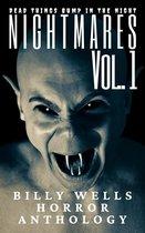 Omslag Nightmares- Volume 1- A Billy Wells Horror Anthology