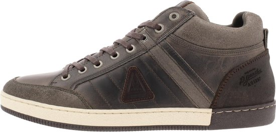 Gaastra Willis Mid Ctr Sneaker Men Grey-Brown 44