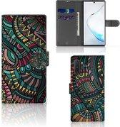 Samsung Galaxy Note 10 Plus Telefoon Hoesje Aztec
