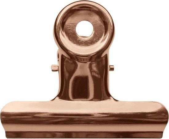 LPC Papierklem Bulldog clip koper - 19 mm -30 stuks