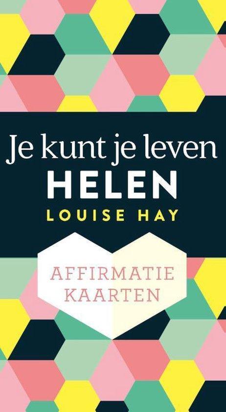 Boek cover Affirmatiekaarten – Je kunt je leven helen van Louise Hay (Onbekend)