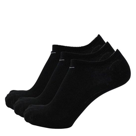 bol.com | Nike sokken laag 3 paar zwart-38/42