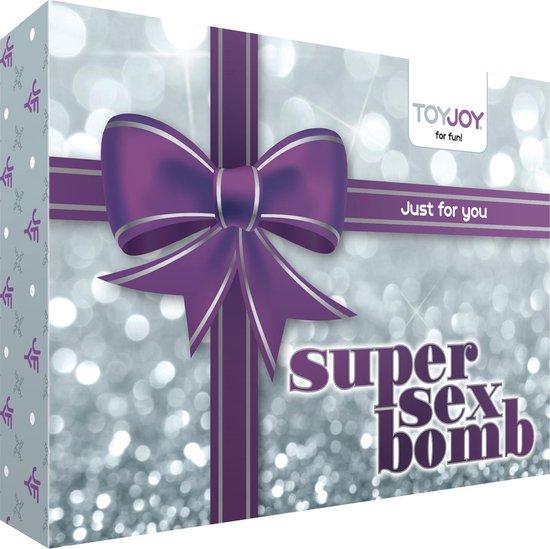 Erotische cadeauset Super Sex Bomb