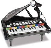 Bontempi Elektronische Piano Met Microfoon 30 Cm Zwart