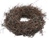 DBT Kerstkrans - Bonsai hout - Ø 60 cm