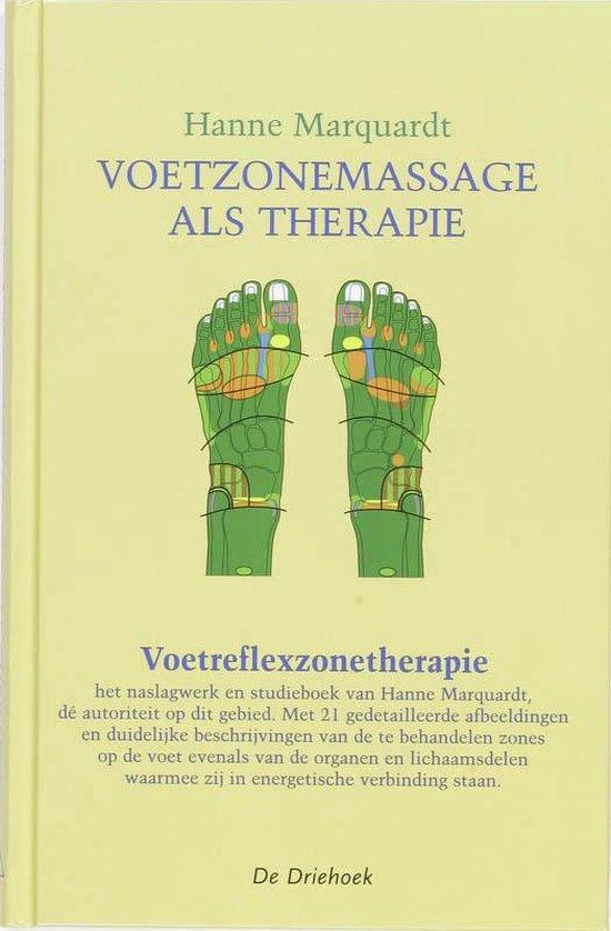 Voetzonemassage als therapie - H. Marquardt |