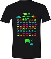 Space Invaders Multicolor T-Shirt S