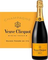 Veuve Clicquot Brut Champagne - 1 x 75 cl - Giftbox