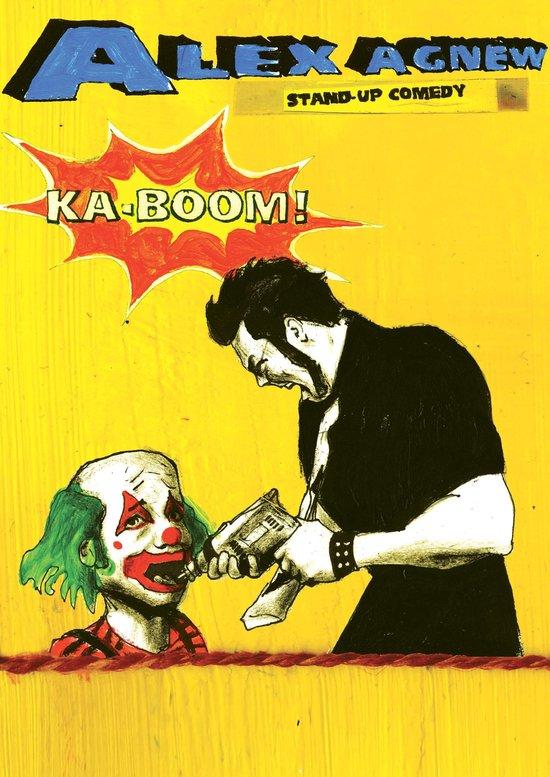Cover van de film 'Alex Agnew - Ka-Boom'