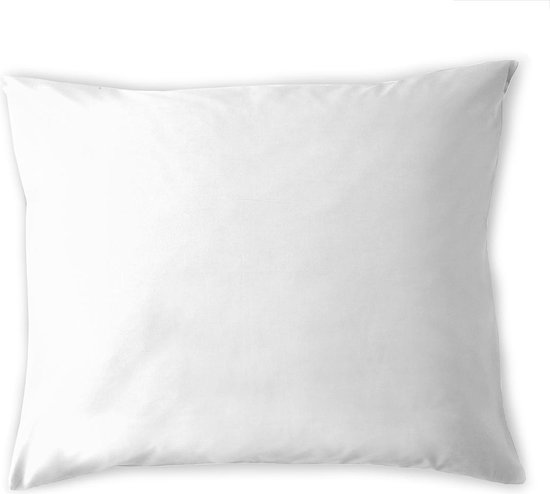 Cinderella basic kussenslopen katoen 60x70 (01) white (2 stuks)