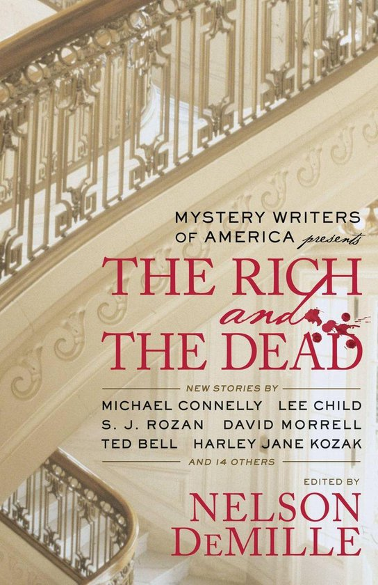 Omslag van Mystery Writers of America Presents The Rich and the Dead