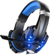 KOTION EACH G Gaming Headset - Zwart/Blauw
