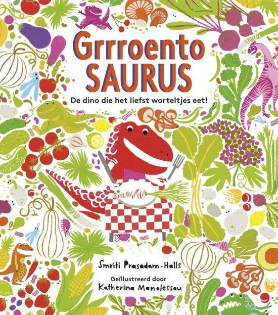 Boek cover Grrroentosaurus van Smriti Prasadam-Halls (Hardcover)
