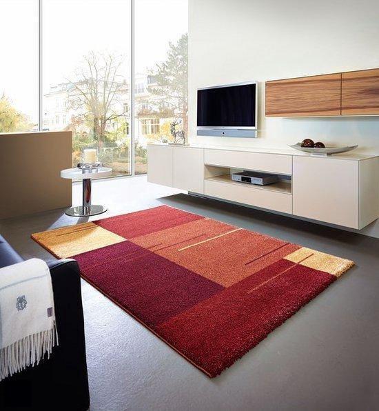Schöner Wohnen Feeling - Vloerkleed - 120x180 cm - Kunststof - Rood