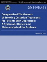 Comparative Effectiveness of Smoking Cessation Treatments for Patients with Depression
