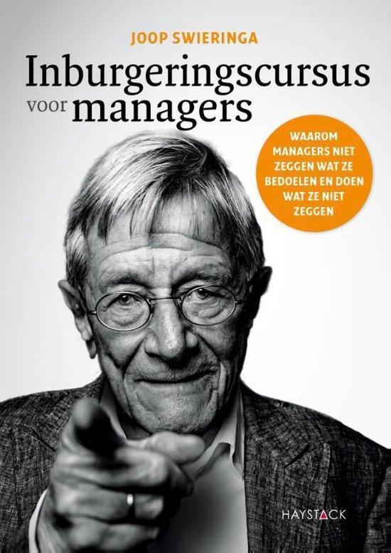 Boek cover Inburgeringscursus voor managers van Joop Swieringa