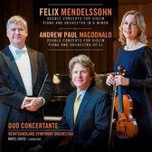 Mendelssohn & MacDonald: Double Concertos for Violin, Piano and Orchestra