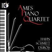 Hahn: Quartet in G; Schmitt: Hasards; Dubois: Quartet in A minor