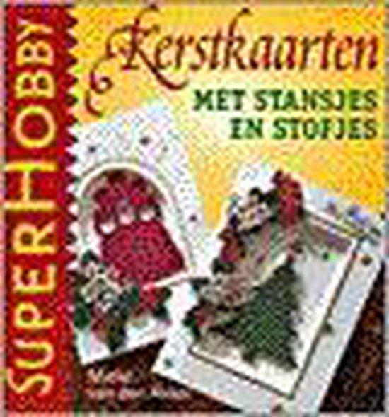 KERSTKAARTEN MET STANSJES EN STOFJES - Van Akker  