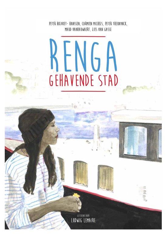 Boek cover Renga van Lies Van Gasse (Hardcover)