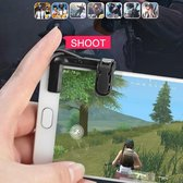 KELERINO. Smartphone Game Knoppen Richt en vuur triggers - Zwart