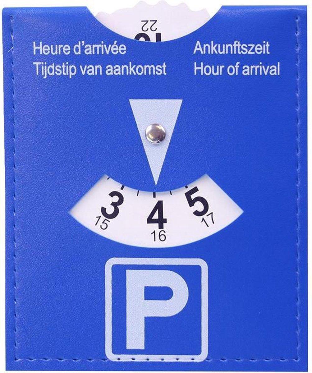 Parkeerschijf   Parkeerkaart - Blauwe zone   schijf / kaart  voor parkeer