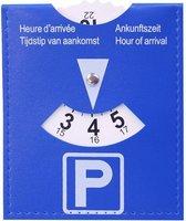Parkeerschijf | Parkeerkaart - Blauwe zone | schijf / kaart  voor parkeer