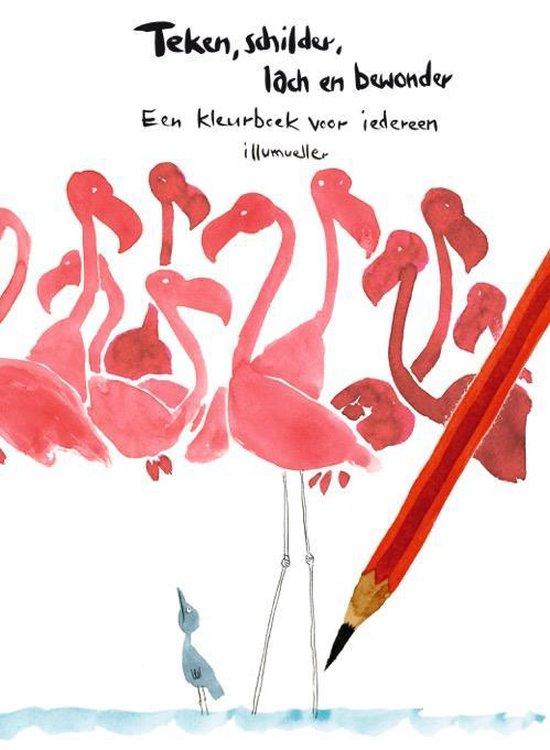 Teken, schilder. lach en bewonder - Daniel Müller  