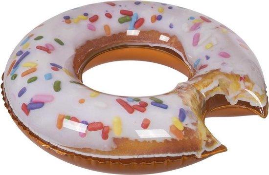 Opblaasbaar donut 100 cm - Zwembanden - Zwemringen