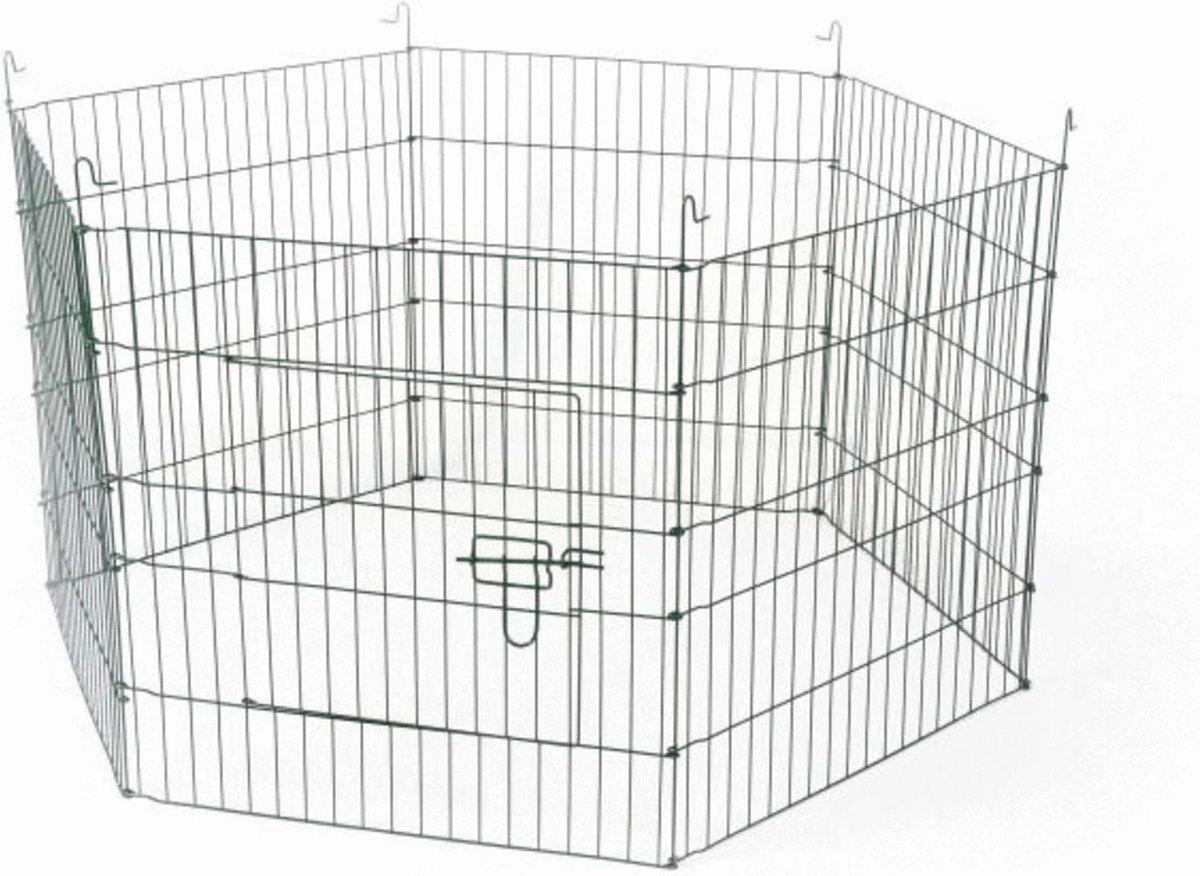 Adori Konijnenren - Grijs - 60 x 60 x 60 cm