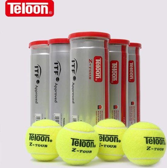 Teloon Z-Court Tennisballen 3x6-pack