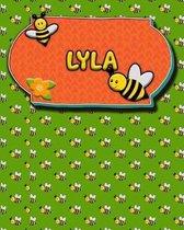 Handwriting Practice 120 Page Honey Bee Book Lyla