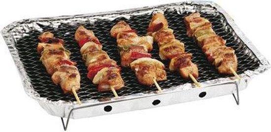 Barbecue klein wegwerp   barbecues   houtskool   vlees   festival   bbq   grillen