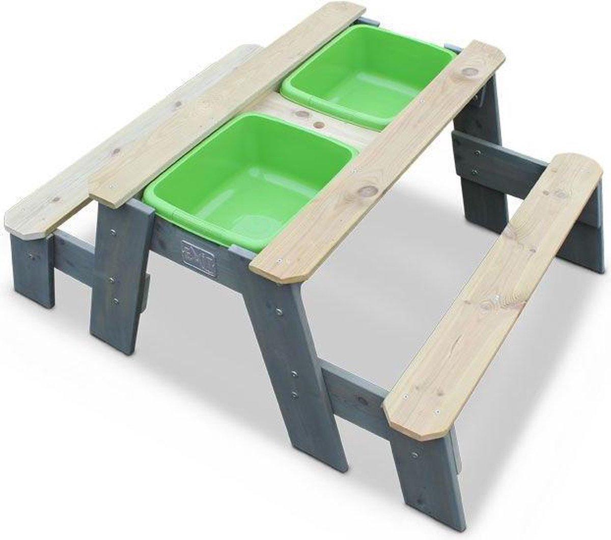 EXIT Aksent Zand- en Water Picknicktafel - 2 bankjes