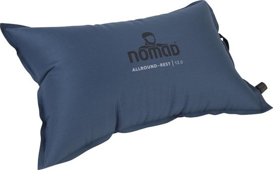 NOMAD Allround-Rest 12.0 - Kampeerkussen - 45 x 28 x 12 - Donker blauw