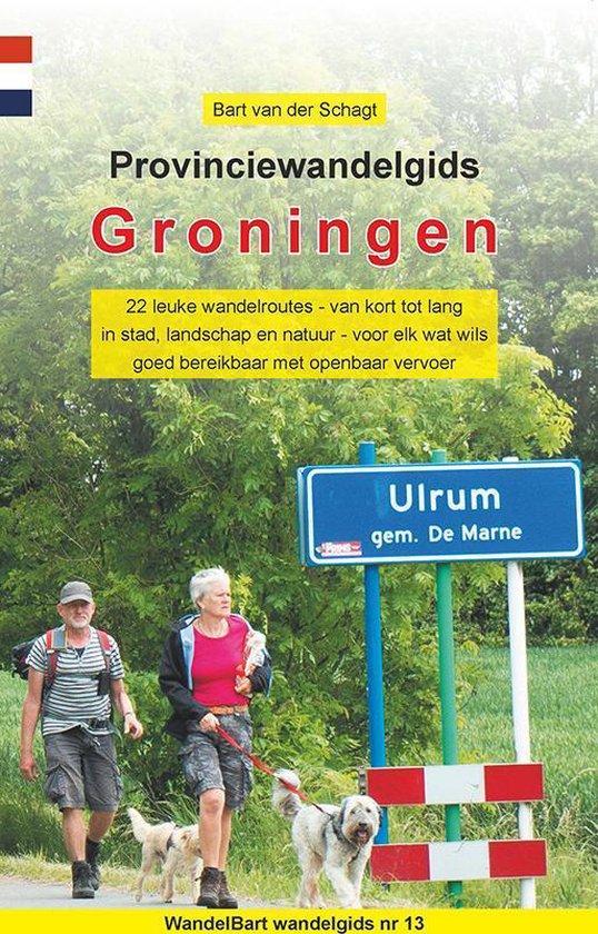 Provinciewandelgidsen 13 - Provinciewandelgids Groningen - Bart van der Schagt |
