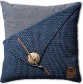 Knit Factory Barley Sierkussen 50x50 Jeans