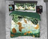 Dreamhouse Botanical Forest Sceptic - Dekbedovertrekset - Lits-Jumeaux - 240x200/220 + 2 kussenslopen 60x70 - Groen