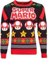 Nintendo Super Mario Kersttrui -XL- Christmas Multicolours