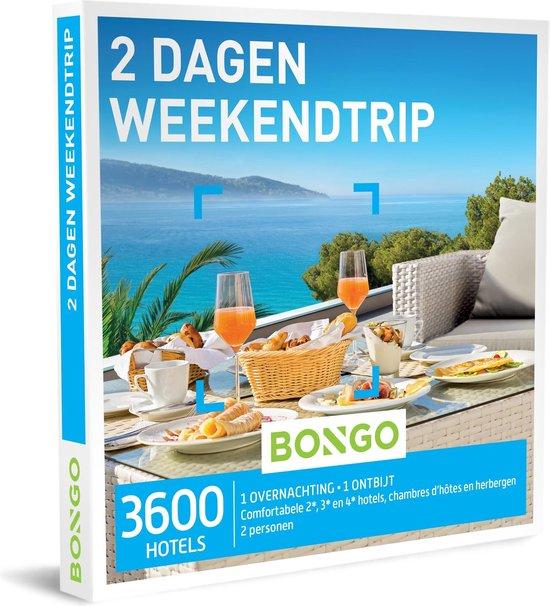 Bongo Bon - 2 Dagen Weekendtrip Cadeaubon - Cadeaukaart cadeau voor man of vrouw | 3600 adressen, waaronder hotels tot 4*, chambres d'hôtes en herbergen