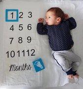 Milestone doek|New Born|Baby|Kind|Groei Laken|