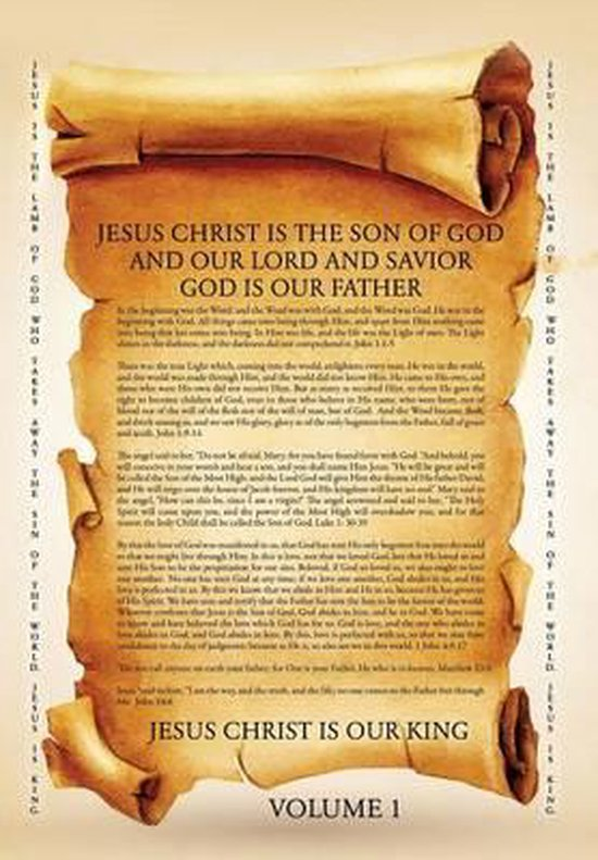 Boek cover Jesus Christ Is the Son of God and Our Lord and Savior God Is Our Father van Hannah Hildebrandt (Paperback)