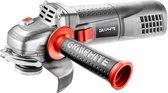 HAAKSE SLIJPMACHINE 125 mm 900 Watt - GRAPHITE