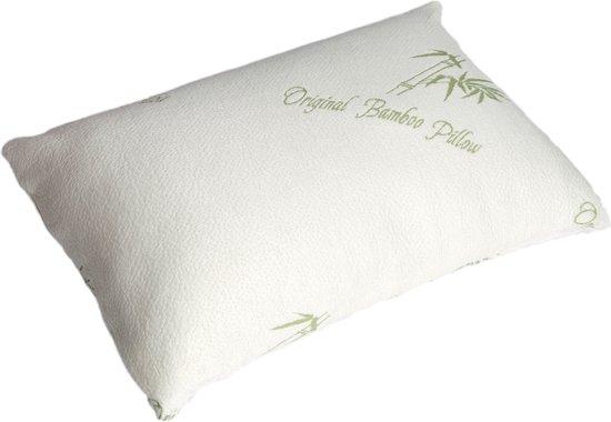 Origineel Bamboe Kussen | 48 x 70 CM | Bamboo kussen voor ideale nachtrust | Aanbevolen