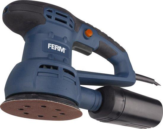 FERM Excentrische Schuurmachine – 430W – Ø125MM schuuroppervlak