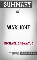 Summary of Warlight: A Novel