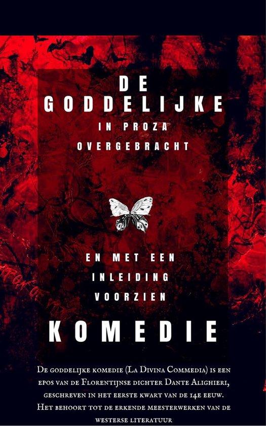Boek cover De goddelijke komedie van Dante Alighieri (Onbekend)