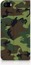 Bookcover iPhone 5s Army Dark