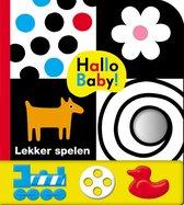 Boek cover Hallo Baby! Lekker spelen van Roger Priddy (Hardcover)